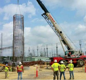 substation project pineville, la