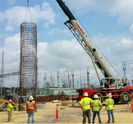 substation project pineville, la